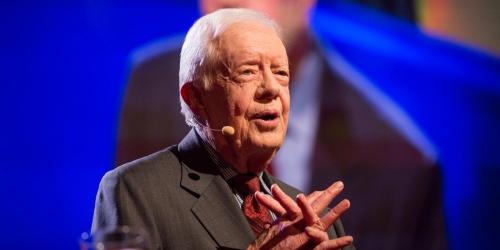 La maltraitance des femmes expliquée par Jimmy Carter