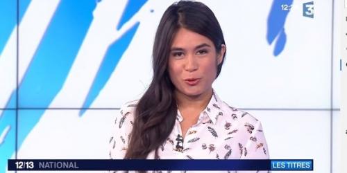 Le décolleté d'Emilie Tran Nguyen, symbole du sexisme à la télévision
