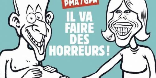 """L'édito de """"Charlie Hebdo"""""""