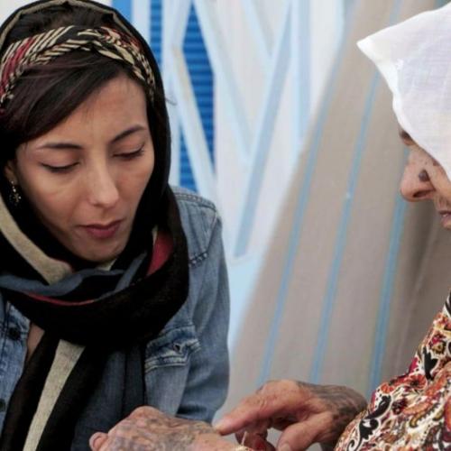 Manel Mahdouani, seule femme tatoueuse de Tunis